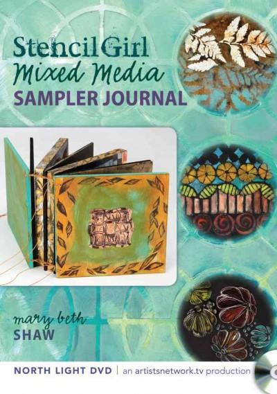 Stencil Girl: Mixed Media Sampler Journal