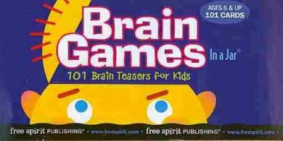 Brain Games in a Jar: 101 Brain Teasers for Kids (In a Jar)