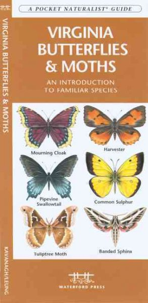 Virginia Butterflies & Moths: An Introduction to Familiar Species (Pocket Naturalist Guide)