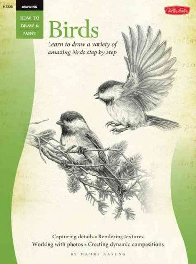 Birds: Learn to Draw a Variety of Amazing Birds in Pencil Step by Step (How to Draw & Paint)