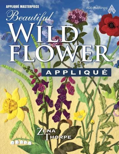 Beautiful Wildflower Applique