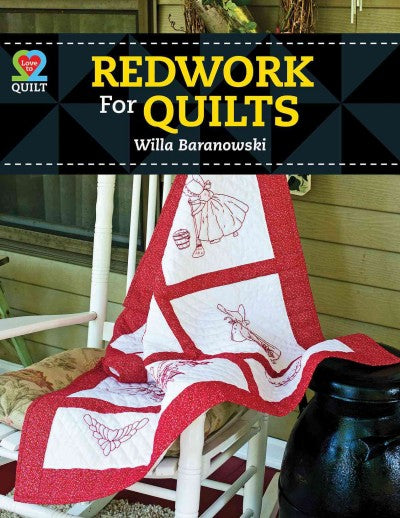 Redwork for Quilts