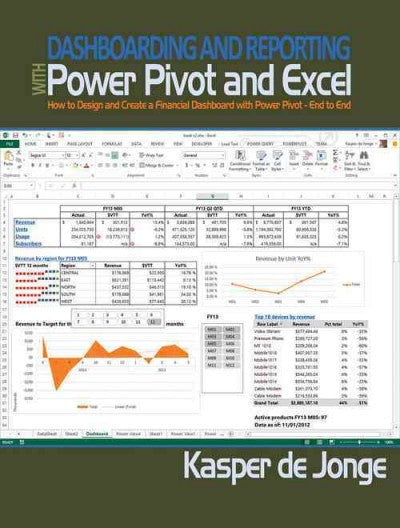 Dashboarding and Reporting With Power Pivot and Excel: How to Design