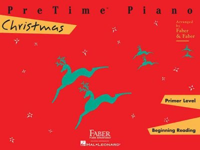 PreTime Piano Christmas: Primer Level, Beginning Reading