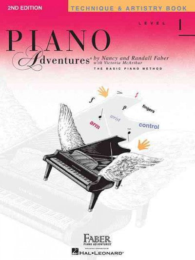 Piano Adventures: Technique and Artistry Book Level 1