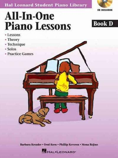 All-in-One Piano Lessons: Book D (All-in-one Piano Lessons)