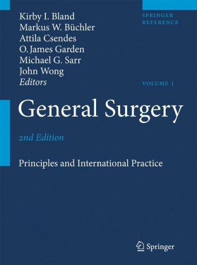 General Surgery: Principles and International Practice