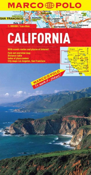 Marco Polo California (MULTILINGUAL) (Marco Polo Maps): Marco Polo California