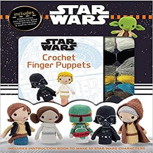 Star Wars Crochet Finger Puppets ( Crochet Kits )