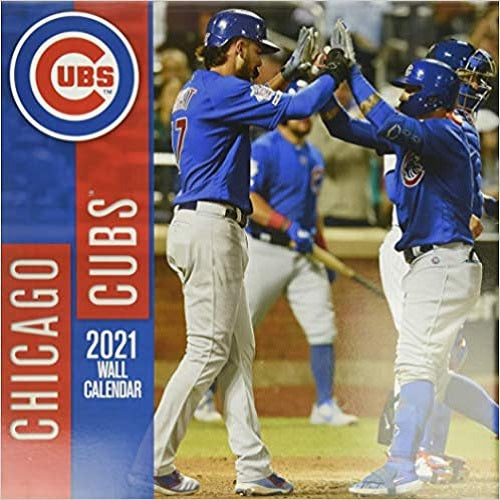 Chicago Cubs 2021 12x12 Team Wall Calendar