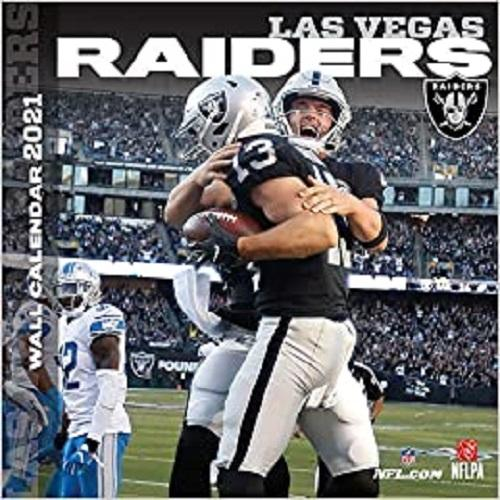 Las Vegas Raiders 2021 12x12 Team Wall Calendar