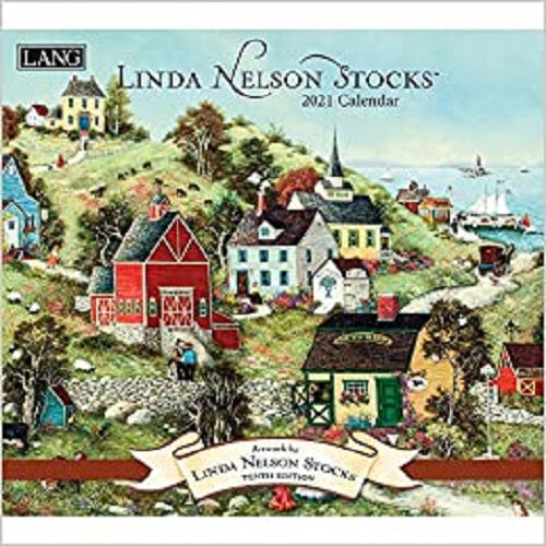Linda Nelson Stocks 2021 Wall Calendar