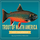 Trout of North America Wall Calendar 2021