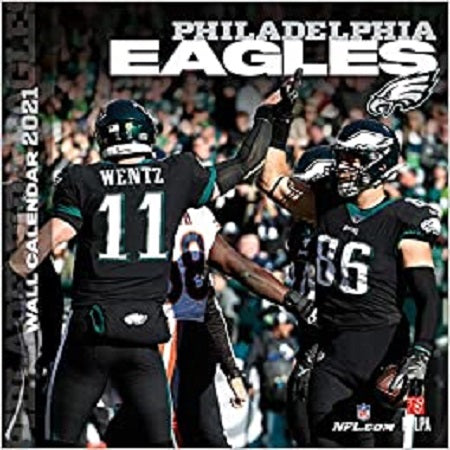 Philadelphia Eagles 2021 12x12 Team Wall Calendar