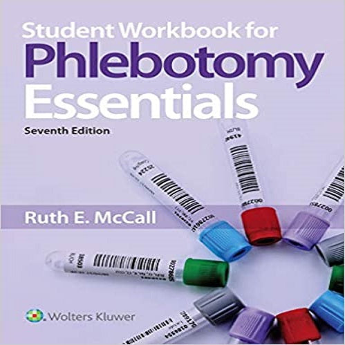 Student Workbook for Phlebotomy Essentials (7TH ed.)