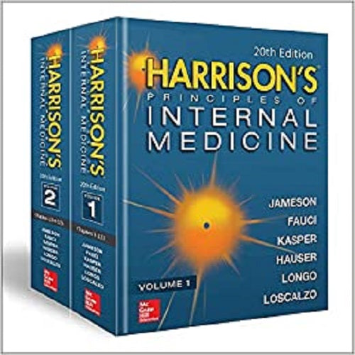 Harrison's Principles of Internal Medicine, Twentieth Edition (Vol.1 & Vol.2) (20TH ed.)