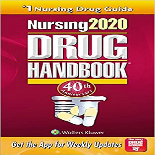 Nursing2020 Drug Handbook (Fortieth) (40TH ed.)