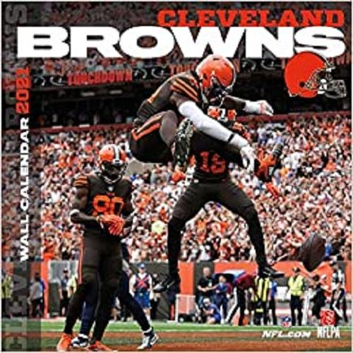 Cleveland Browns 2021 12x12 Team Wall Calendar
