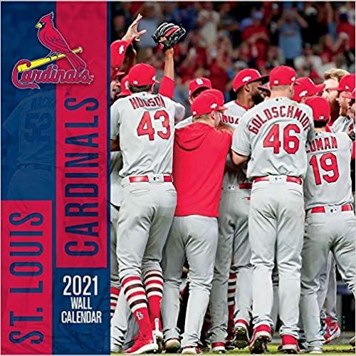 St Louis Cardinals 2021 12x12 Team Wall Calendar