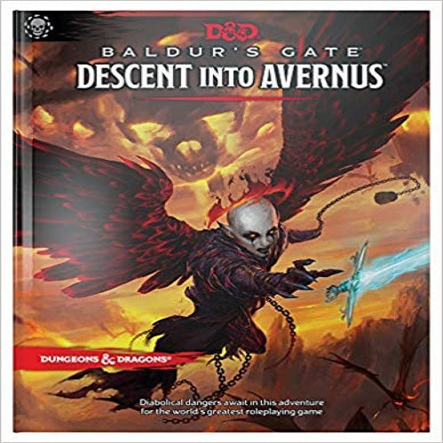 Dungeons & Dragons Baldur's Gate:Descent Into Avernus Hardcover Book (D&d Adventure)