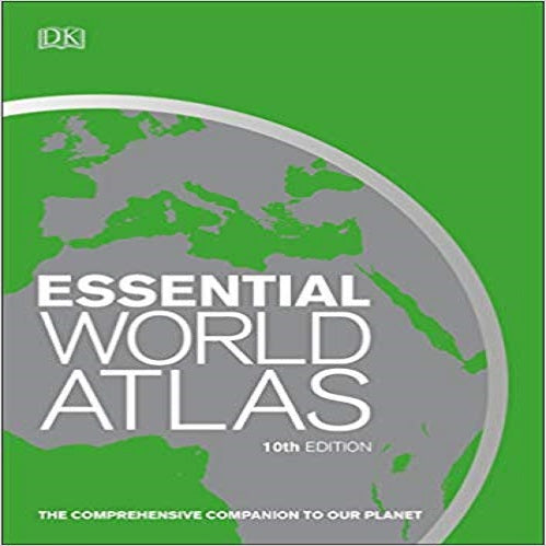 Essential World Atlas, 10th Edition (DK Essential World Atlas)