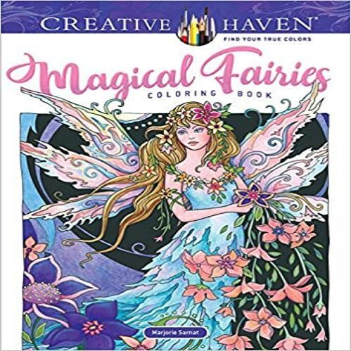Adult Coloring Book Creative Haven Magical Fairies Coloring Book ( Creative Haven Coloring Books )