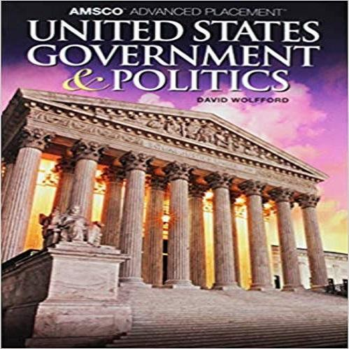 Amsco Advanced Placement United States Government & Politicsamsco Advanced Place