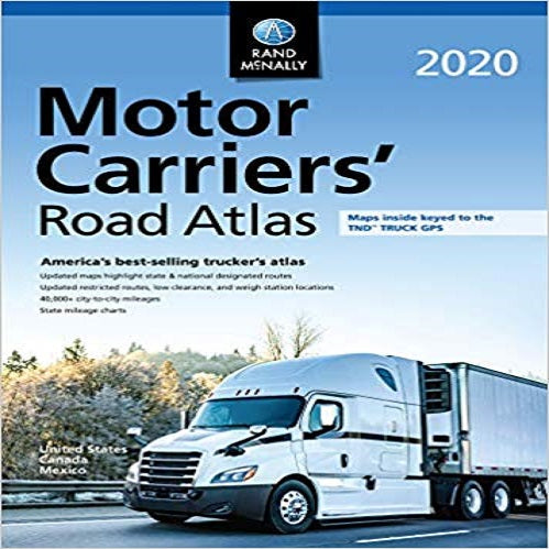 Rand McNally 2020 Motor Carriers' Road Atlas
