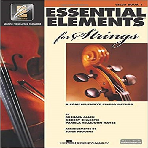 Essential Elements for Strings - Book 1 with Eei: Cello [With CD and DVD] ( Essential Elements for Strings #01 )