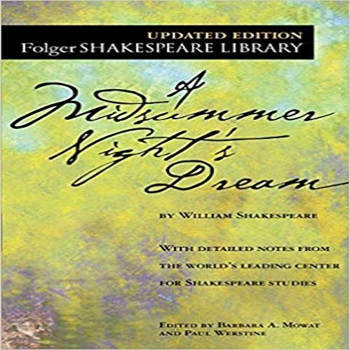 A Midsummer Night's Dream ( Folger Shakespeare Library )