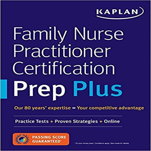 Family Nurse Practitioner Certification Prep Plus: Proven Strategies + Content Review +