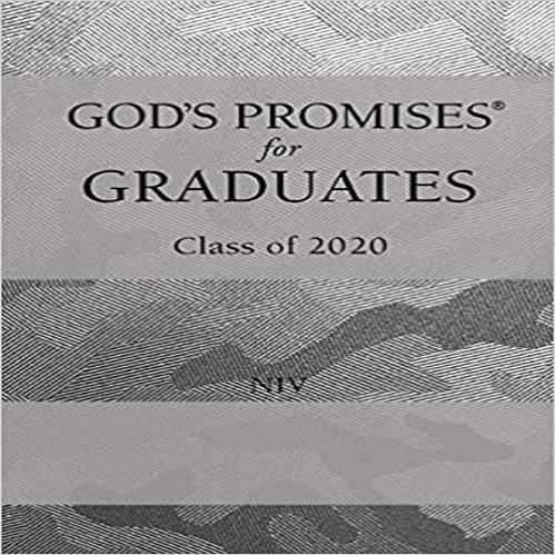 God's Promises for Graduates: Class of 2020 - Silver Camouflage NIV: New International Version ( God's Promises(r) )