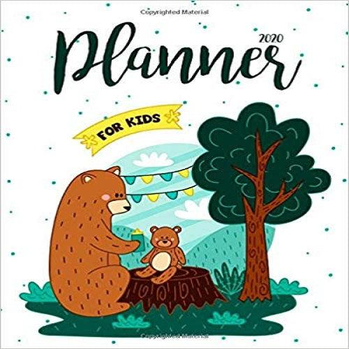 2020 Planner For Kids: 2020 Calendar Weekly And Monthly Planners For Kids:Academic