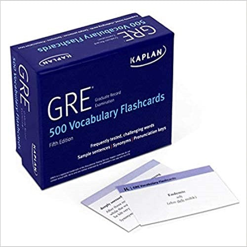 GRE Vocabulary Flashcards (Proprietary, Fourth Edition,) ( Kaplan Test Prep ) (5TH ed.)