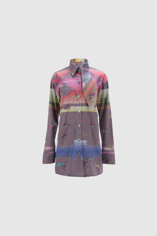 Rainbow Wakesurfer Girls Jacket