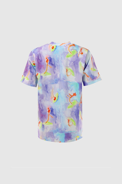 Watercolor Surf Girls T-Shirt