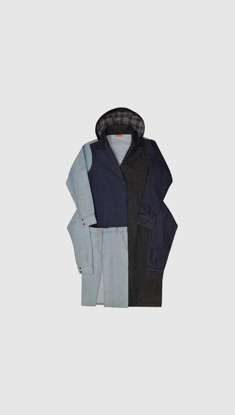 Cyanea Denim Coat