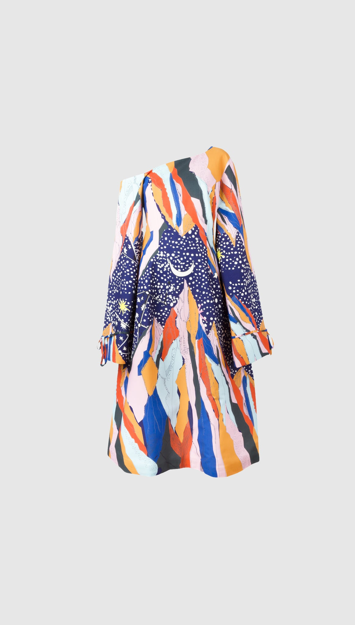 Mountain Star Printed Dress