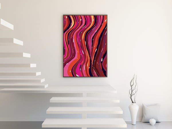 Seasonal Wave Wall Art