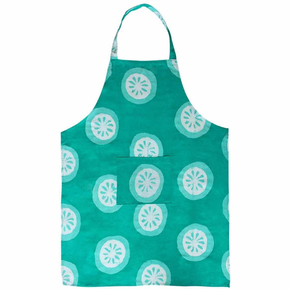 Apron - Shamrock Citrus - Global Mamas (A) Accessories