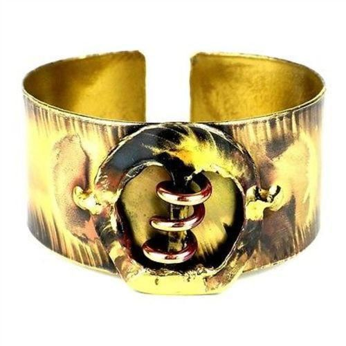 Copper Spring Brass Cuff - Images (C)
