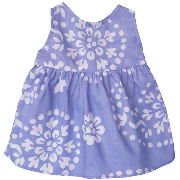 Baby Sundress Violet Paisley - Global Mamas (B) Apparel And Booties