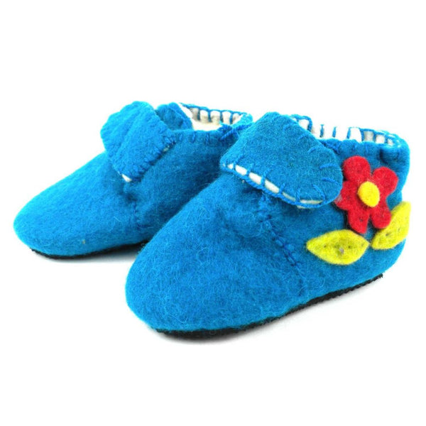 Blue Zooties Toddler - Silk Road Bazaar Baby Apparel And Booties