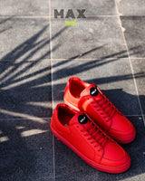 doc martin max red sneakers