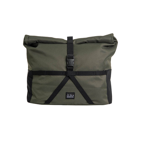 Borough Roll Top Bag M Olive