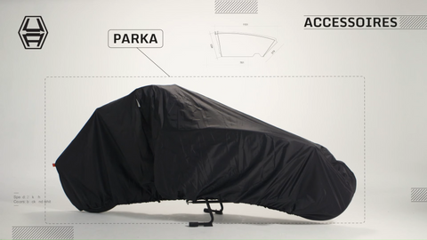 Allwetterplane Parka Bike Cover