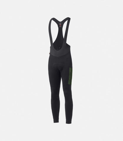 Bib Tights Odyssey Power Wool Winter Schwarz
