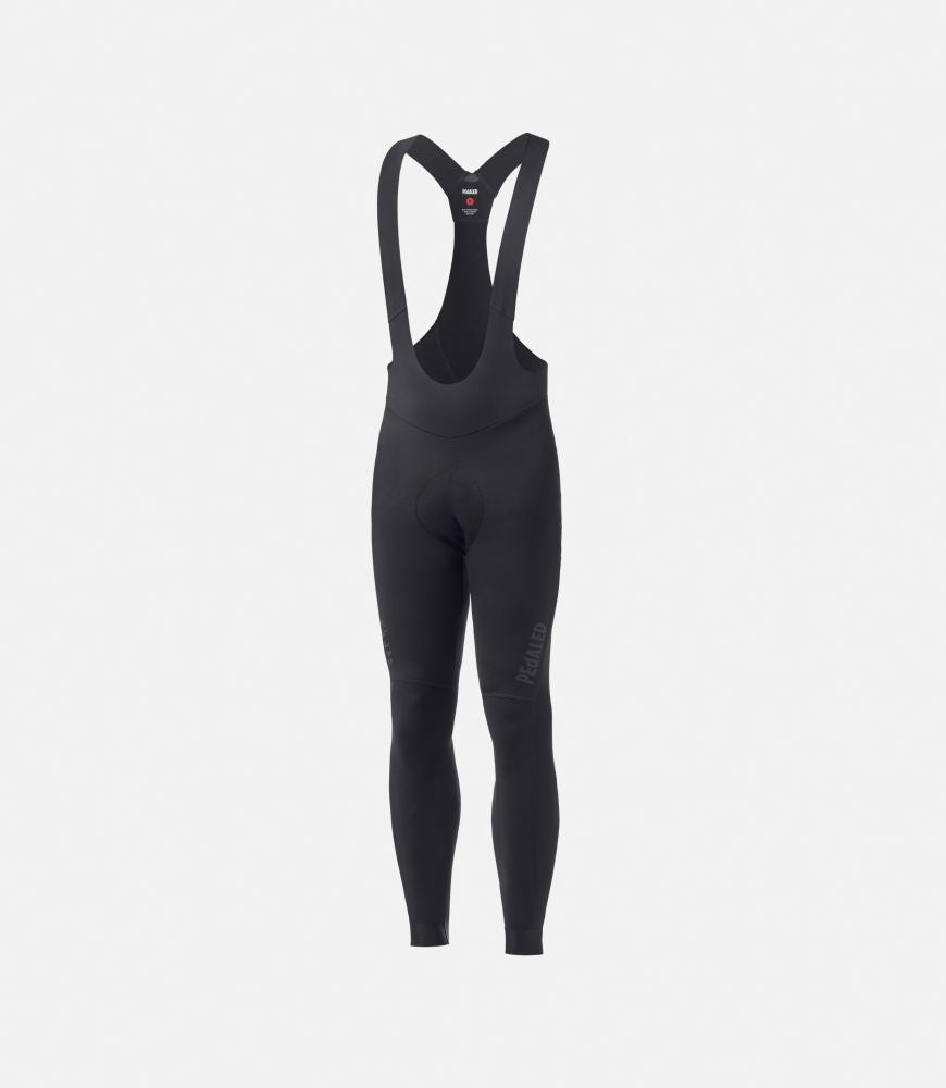 Bib Tights Mirai Winter Schwarz