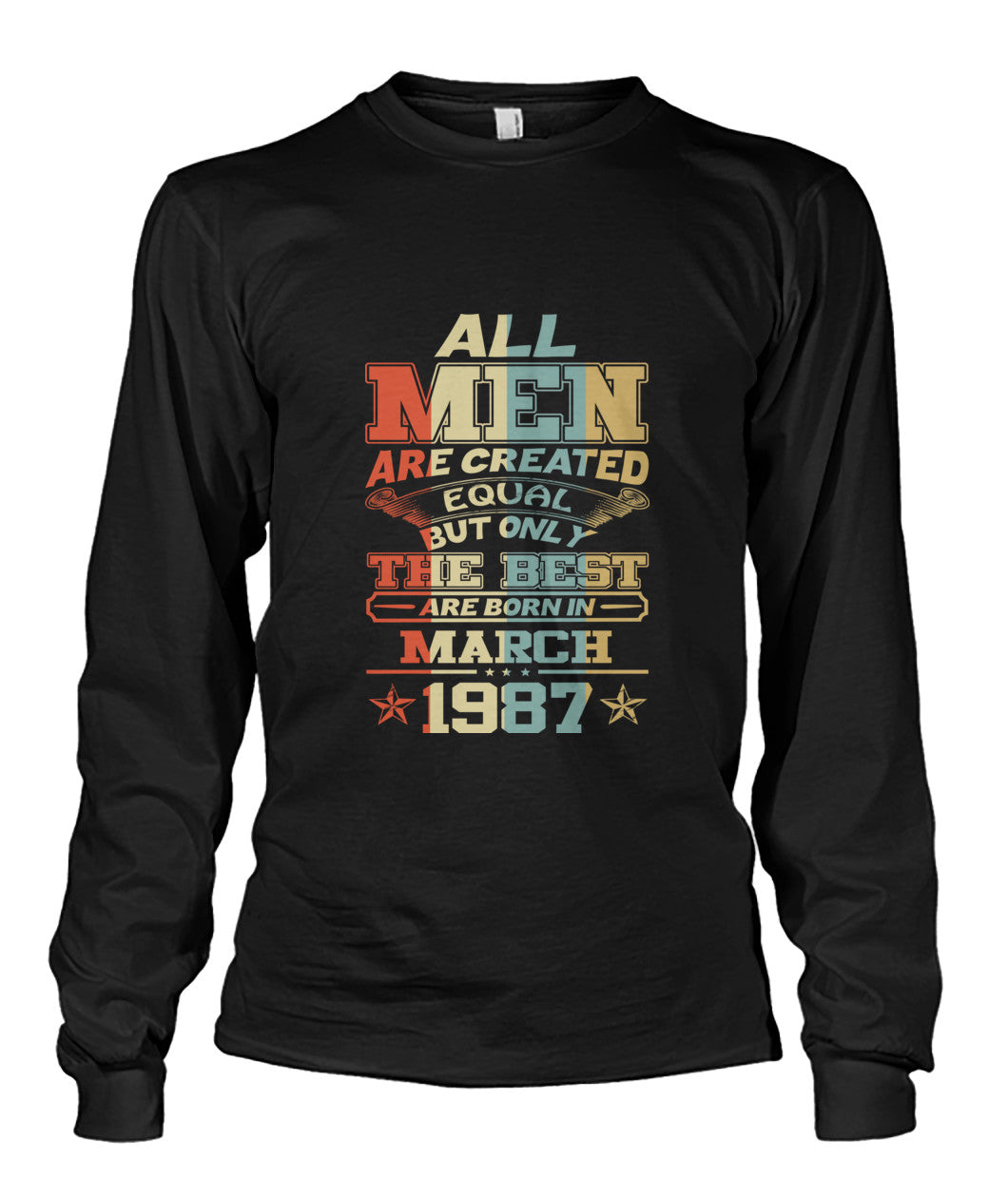 All Men Are Created Equal Only Best Are Born March 1987