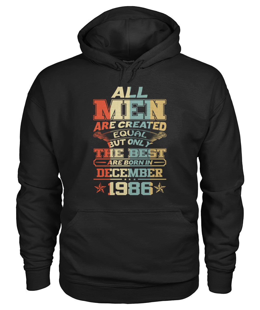 All Men Are Created Equal Only Best Are Born December 1986